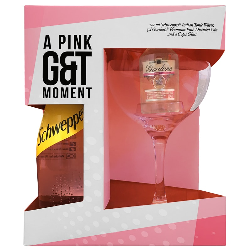 A Pink G&T Moment Gift Set