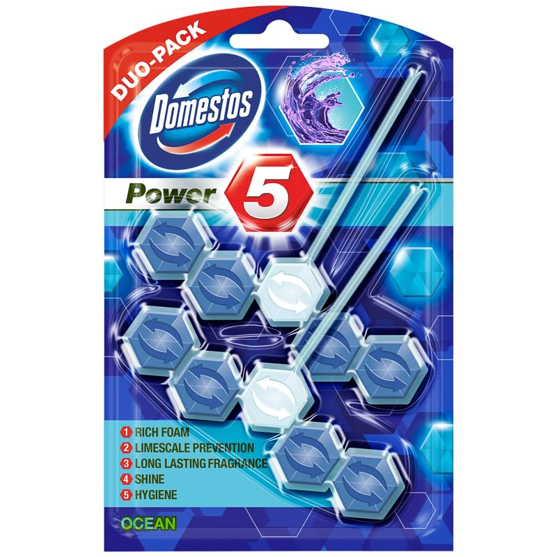 Domestos Power 5 2pk - Ocean