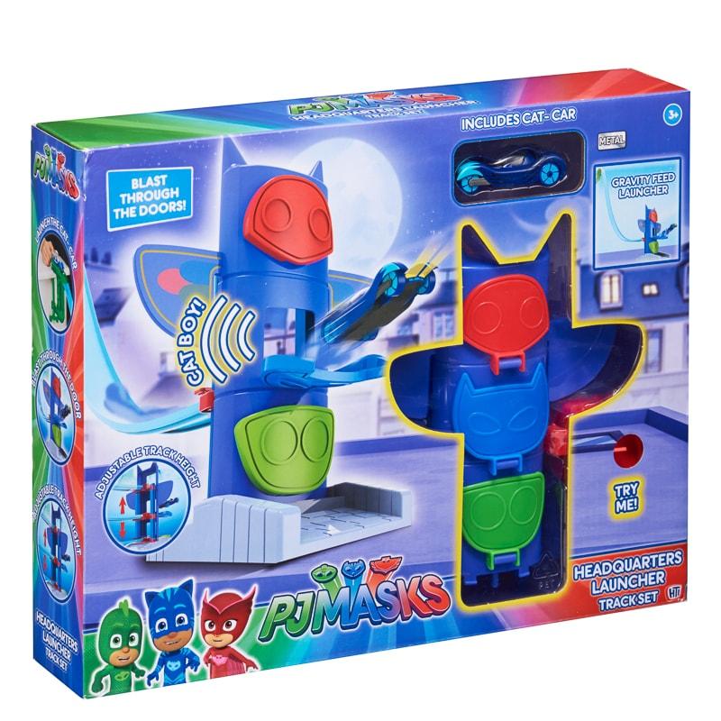 Pj Masks Headquarters Launcher Car Toys B M