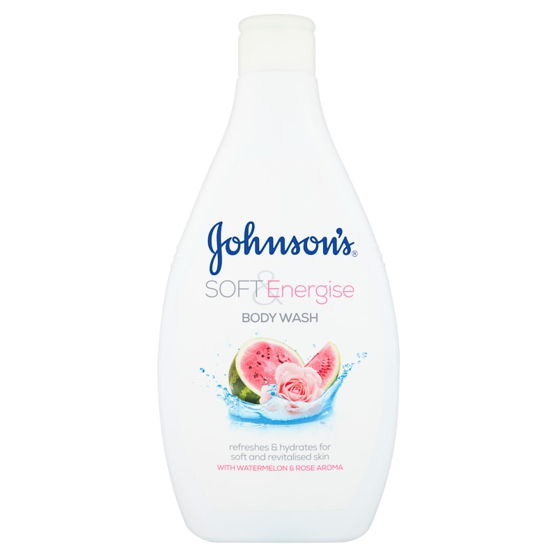 Johnson S Soft Amp Energise Body Wash 400ml Shower Gel B Amp M