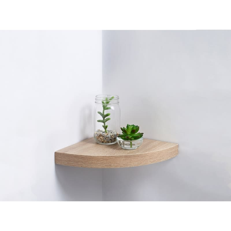 Lokken Corner Shelf - Oak