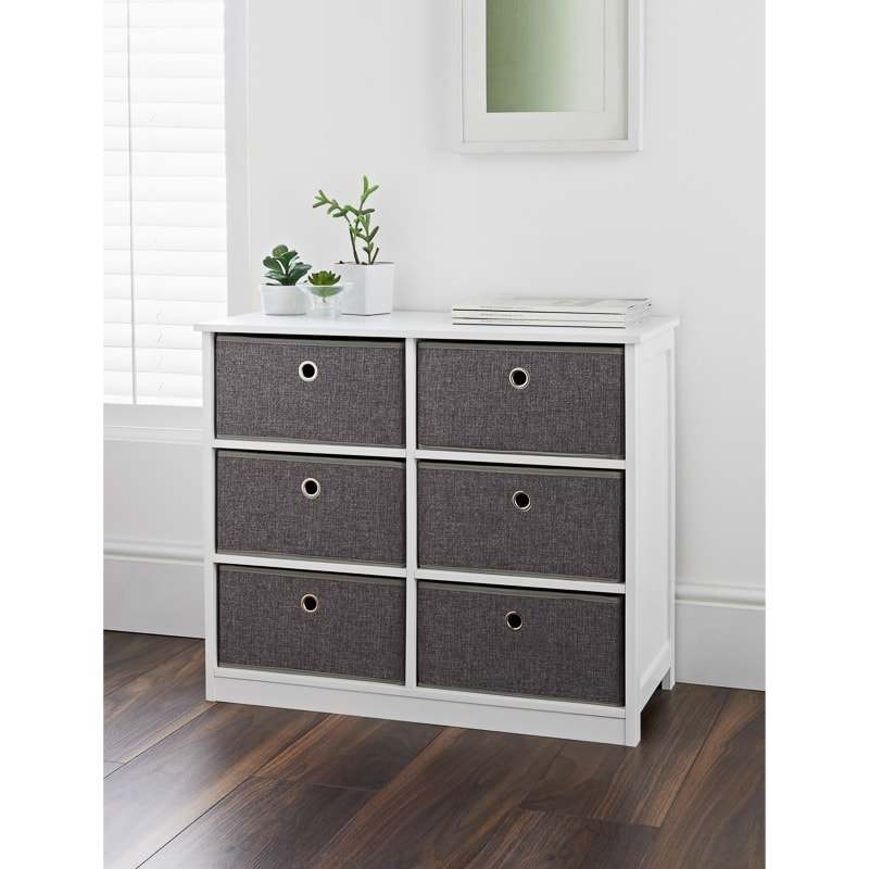 Easy Link 6 Drawer Chest Storage Furniture B Amp M