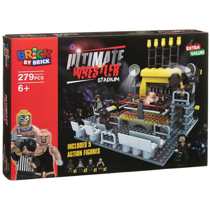 Brick by Brick Ultimate Wrestler Stadium