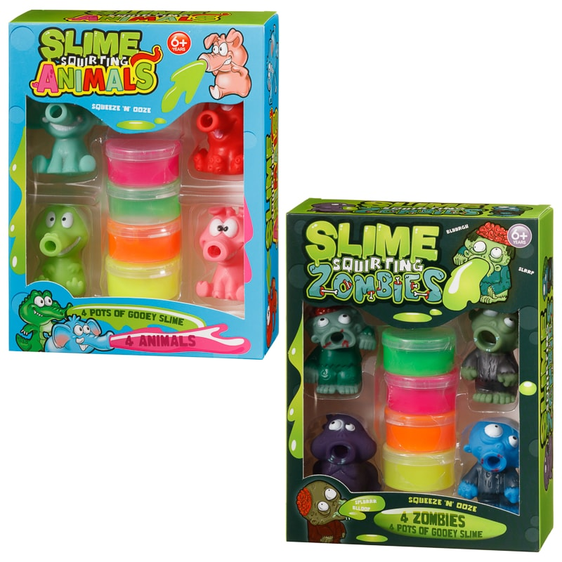 Slime Squirting Animals