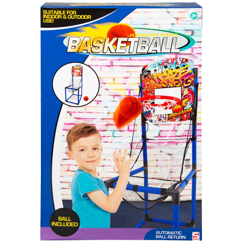 Junior Pro Basketball Set - Blue