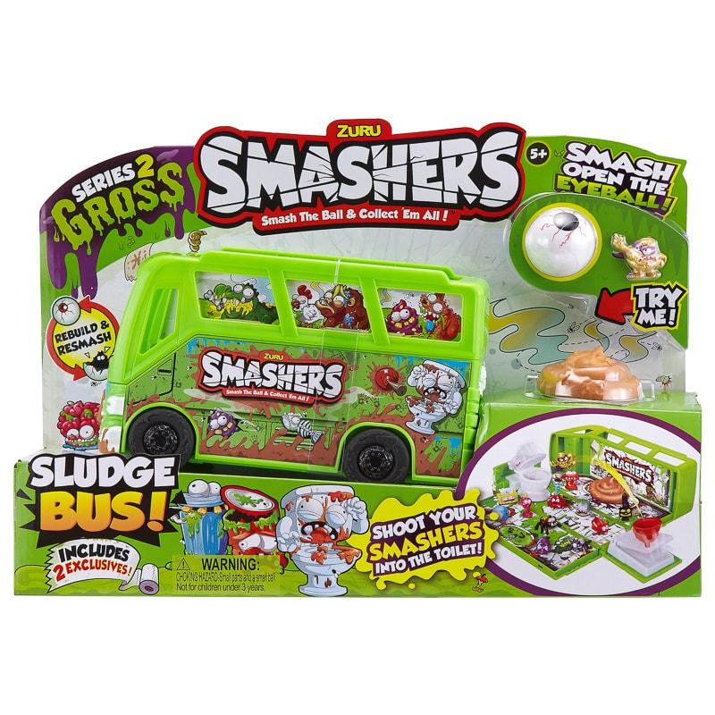 Zuru Smashers Sludge Bus Action Figures Amp Toys B Amp M