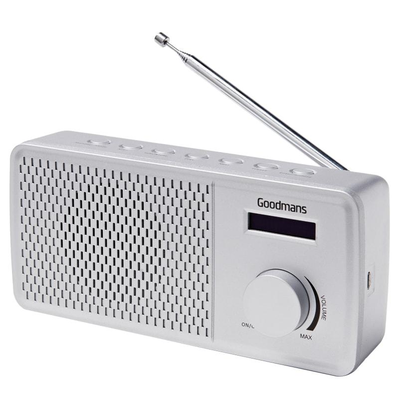 Goodmans DAB Radio - Silver