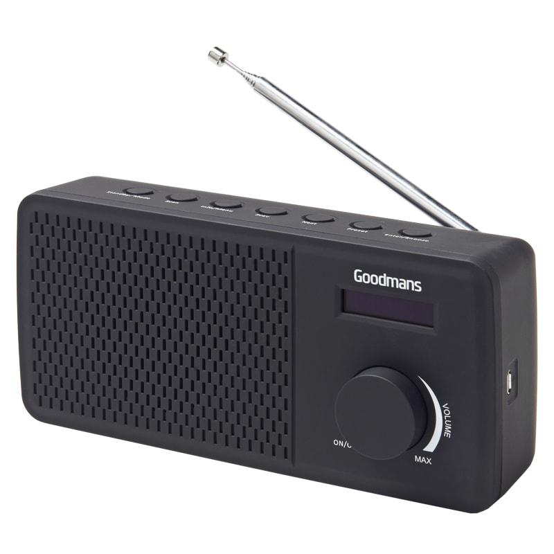 Goodmans DAB Radio - Black
