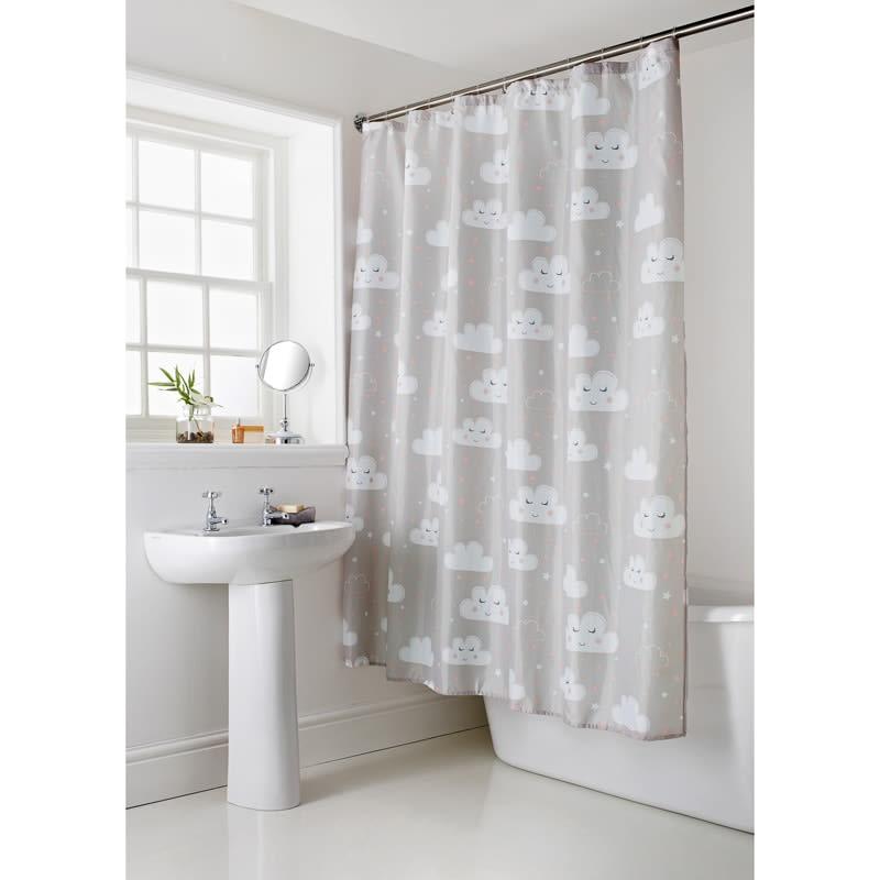 339064 Cloud Shower Curtain