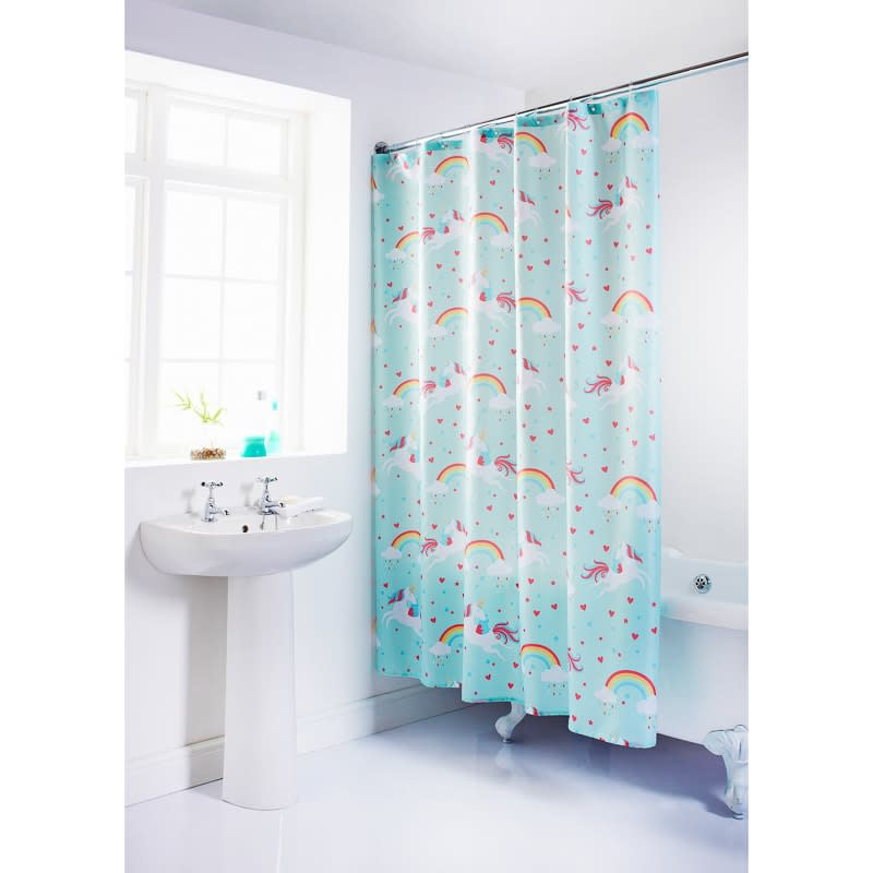 339064 Unicorn Shower Curtain