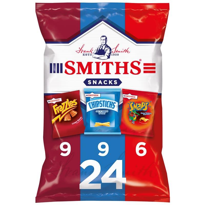 Smith S Variety Pack Crisps 24pk Groceries Crisps
