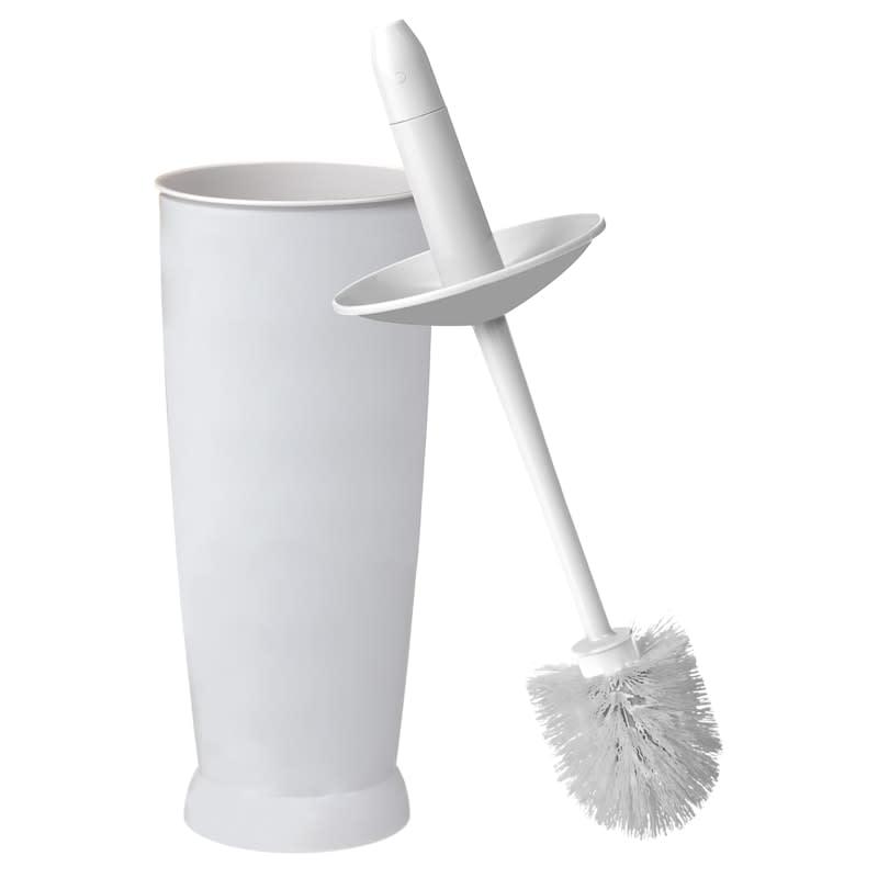Addis Plastic Toilet Brush White Bathroom Accessories B M