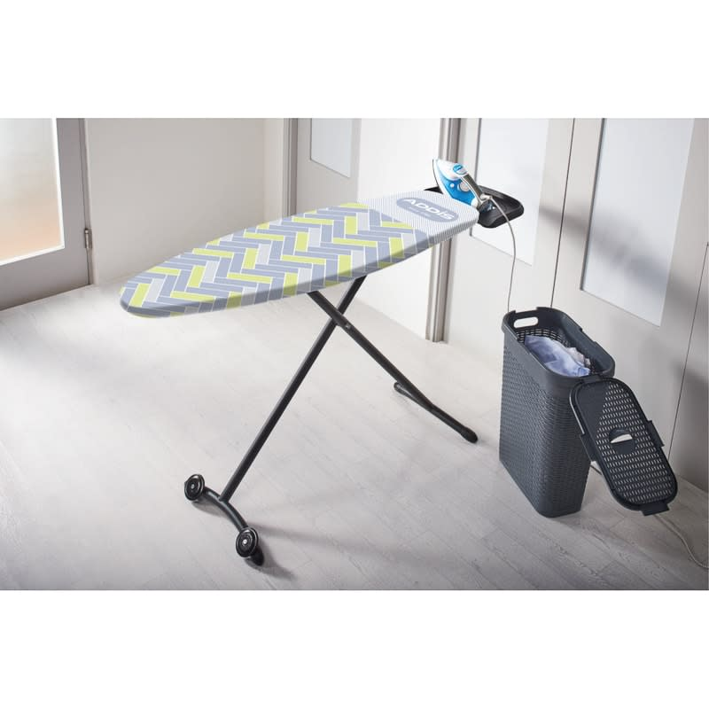 Addis Fusion Ironing Board Cover - Yellow Herringbone
