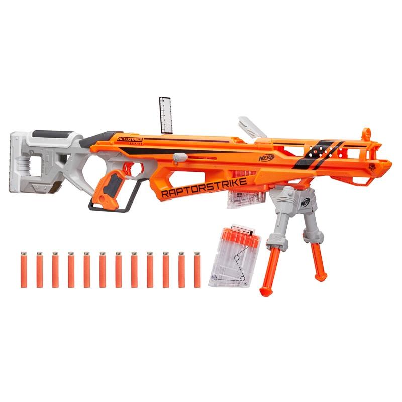 nerf gun raptor strike toys games b m