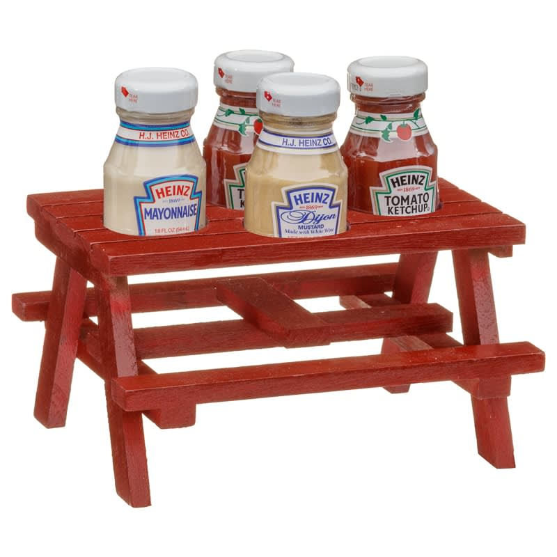 Heinz Backyard Kitchen Table Sauces 4pk | Confectionery - B&M