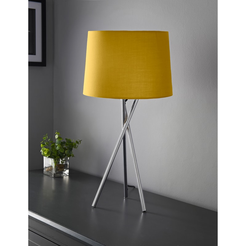 Tripod Table Lamp - Ochre