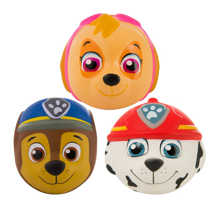 Paw Patrol Squish & Squeeze - Marshall