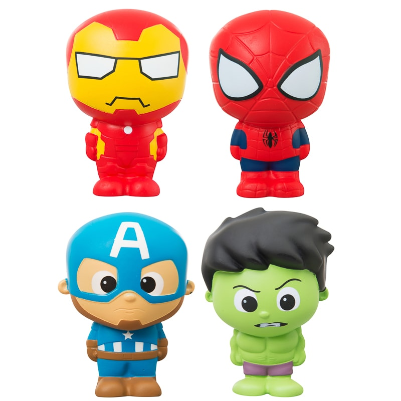 Marvel Squish Amp Squeeze Iron Man Action Figures Amp Toys