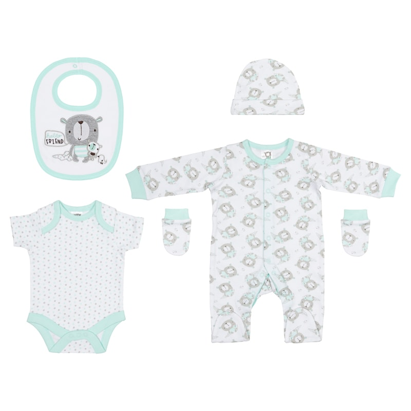 Baby Clothing Set 5pc - Hello Friend