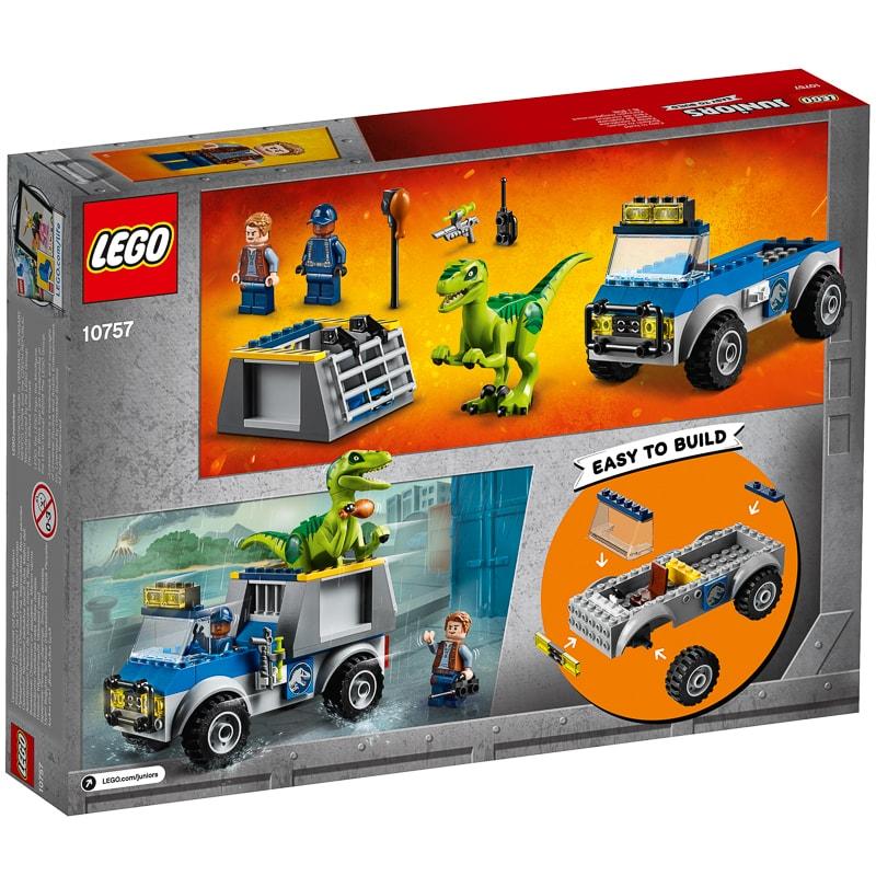 339856 Lego Juniors Jurassic World Raptor Rescue