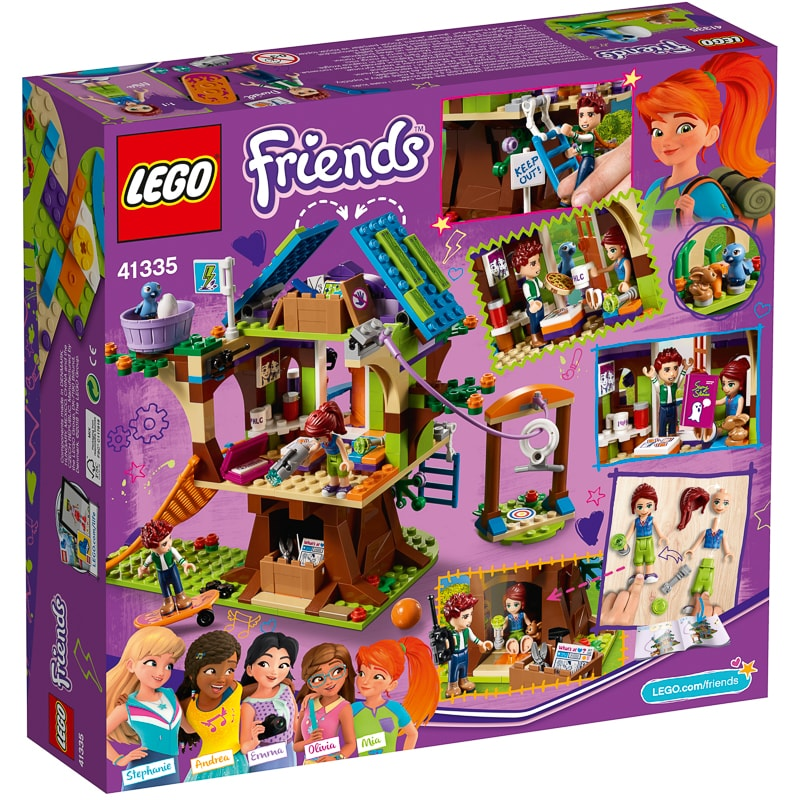 Lego Friends Mia S Tree House Construction Toys B Amp M