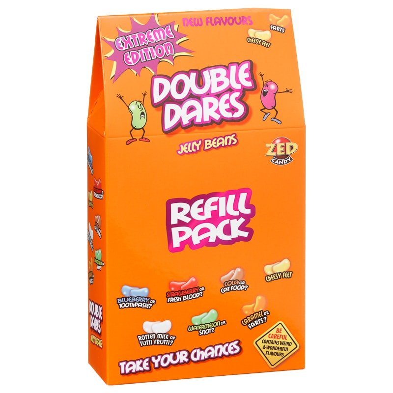 Double Dares Jelly Beans Refill 400g Novelty