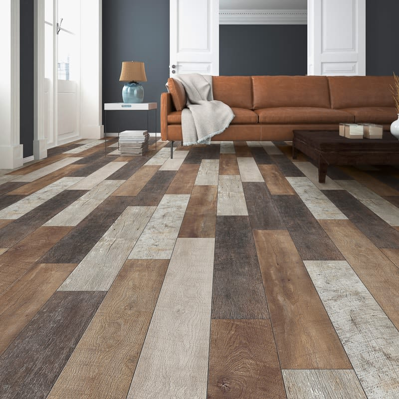 Burnham Oak Effect Laminate Flooring 2 22m 178 Home B Amp M