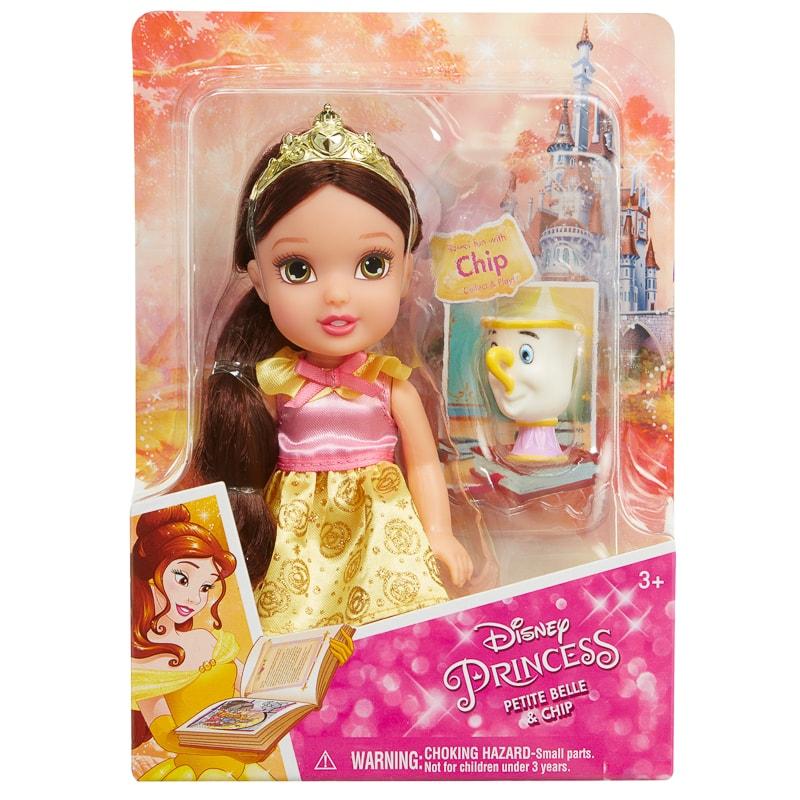 Disney princess petite doll belle dolls accessories b m - Petite princesse disney ...