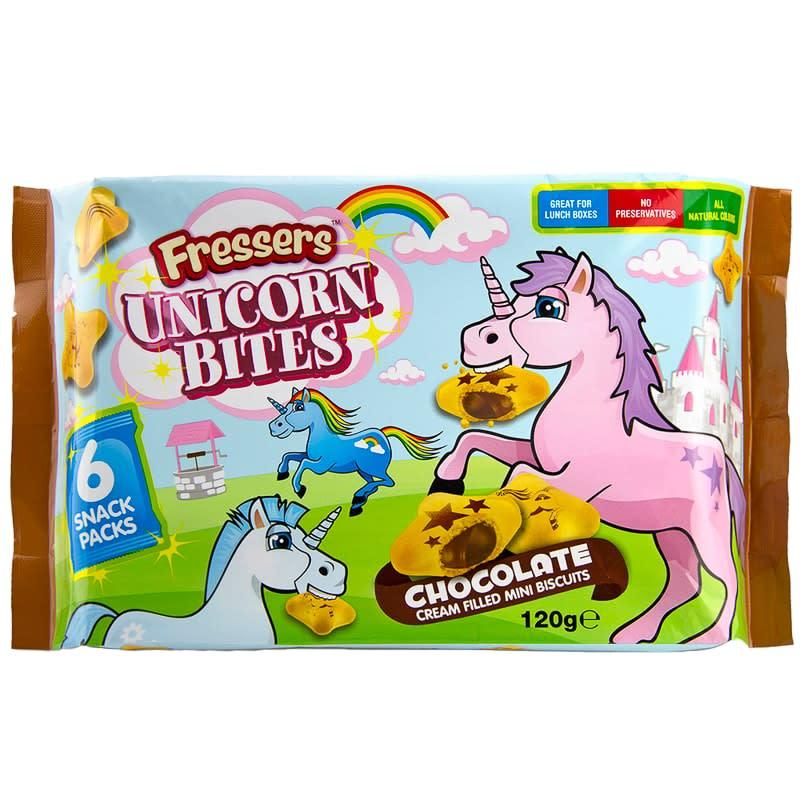 Fressers Unicorn Bites 6 X 20g Groceries Chocolate