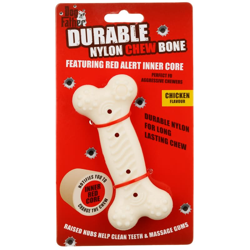 Durable Nylon Chew Bone Dog Toy