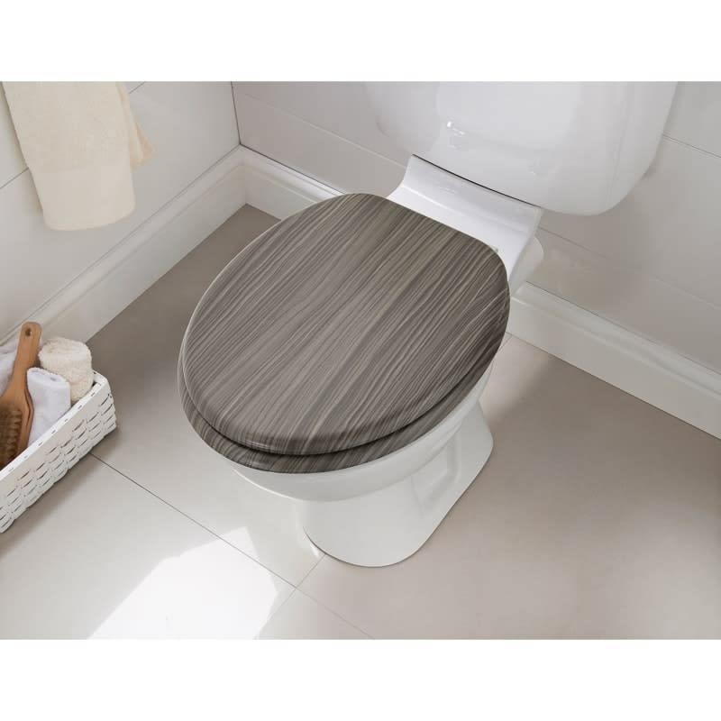 Grey Wooden Toilet Seat Svwilp Nl