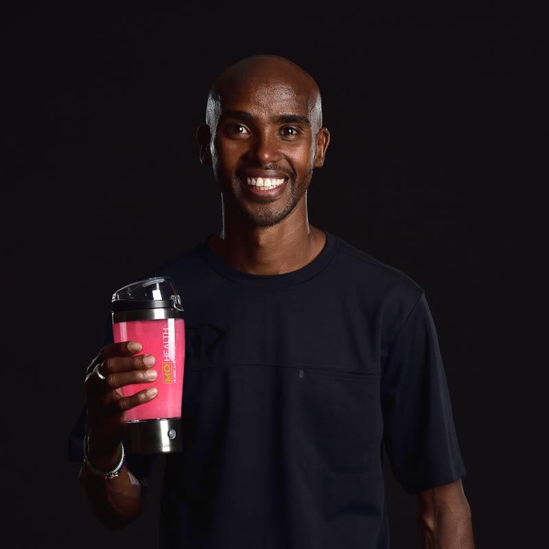 Mo Health Mo Farah Hurricane Protein Shaker | Fitness - B&M