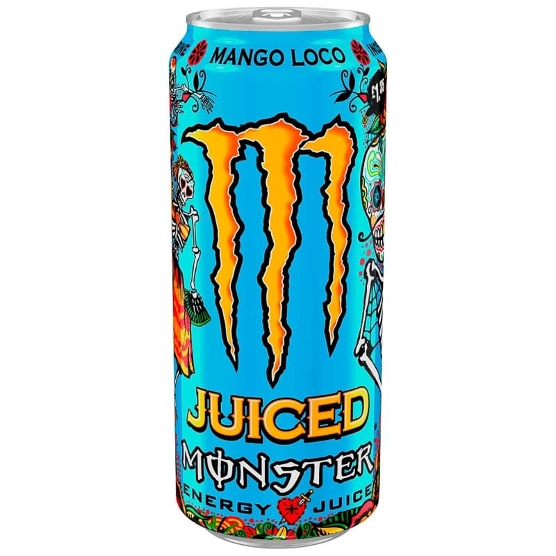 Monster Energy Drink 500ml Mango Loco Soft Drinks B Amp M