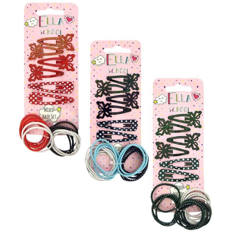 0c2bd86b3 Ella School Hair Accessories - Mixed Hair Set