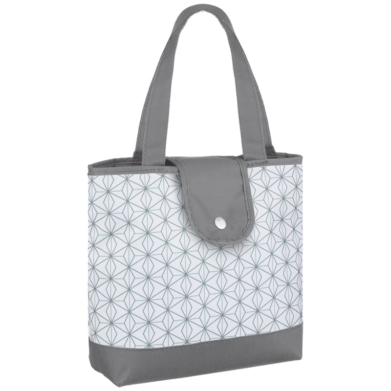 Patterned Insulated Food Bag - Geo