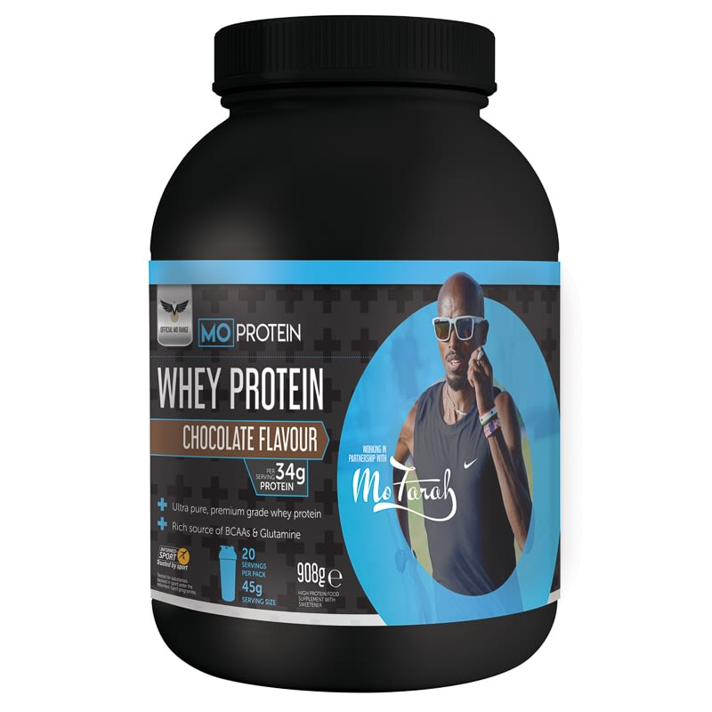 Mo Protein Chocolate Flavour Whey Protein 908g