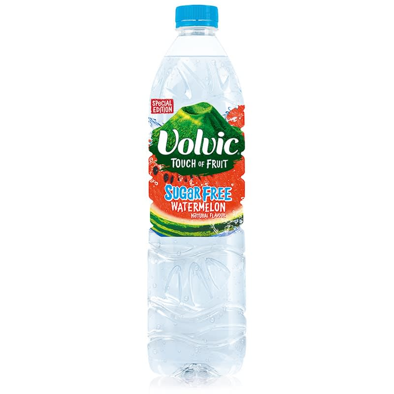 Volvic Touch Of Fruit Sugar Free 1 5l Watermelon Water