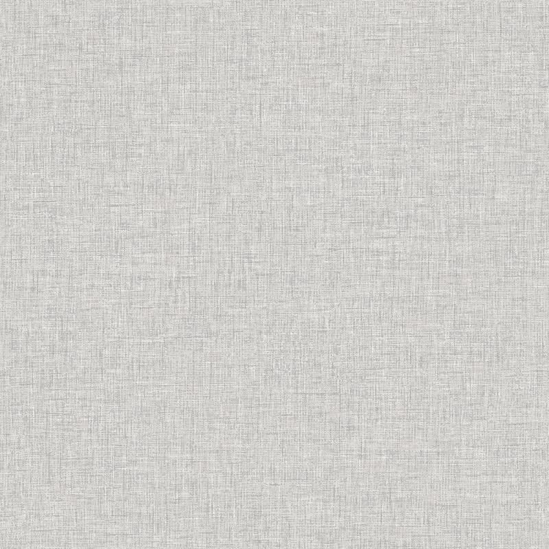 Linen Wallpaper - Dove Grey