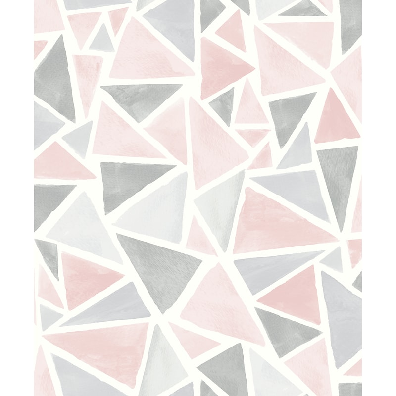 341278 Arthouse Delta Pink Grey Wallpaper 1