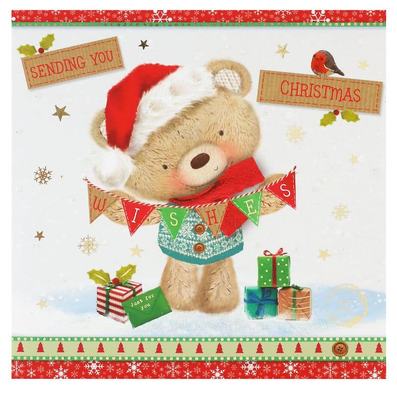 Sending You Christmas Wishes - Christmas Card | Cards - B&M