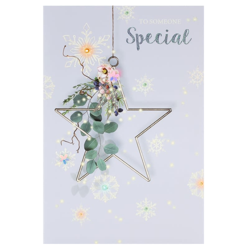 Someone special star christmas card greeting cards bm 341312 someone special star dangler christmas card m4hsunfo