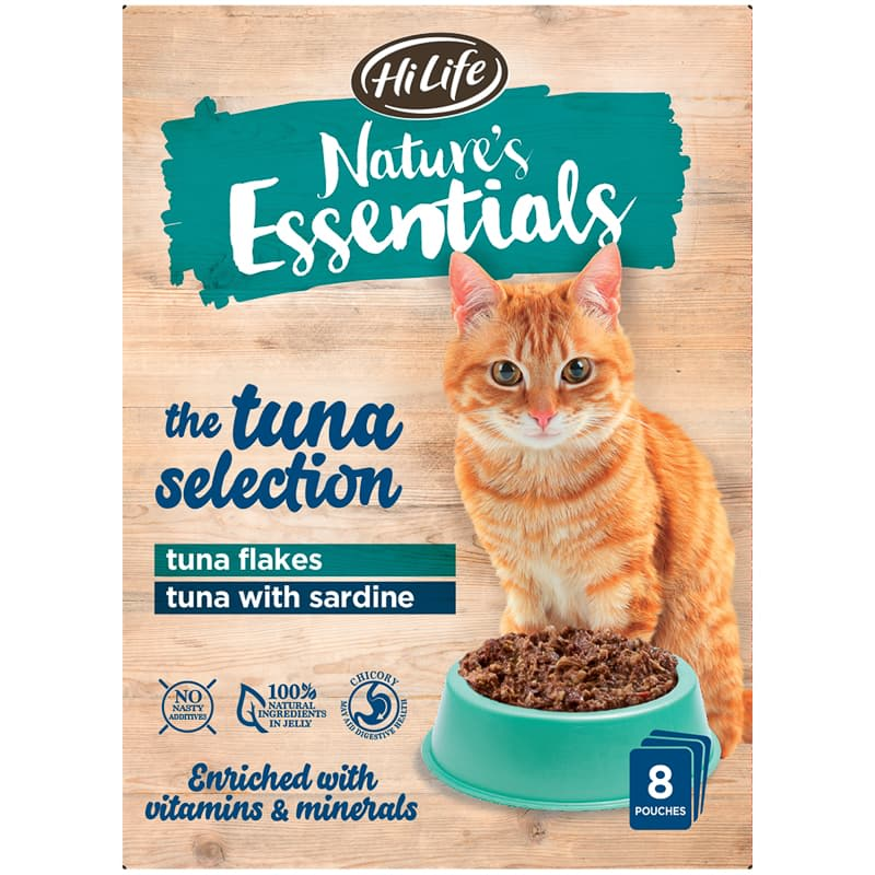 Nature's Essentials Pouches 8pk - Tuna Selection