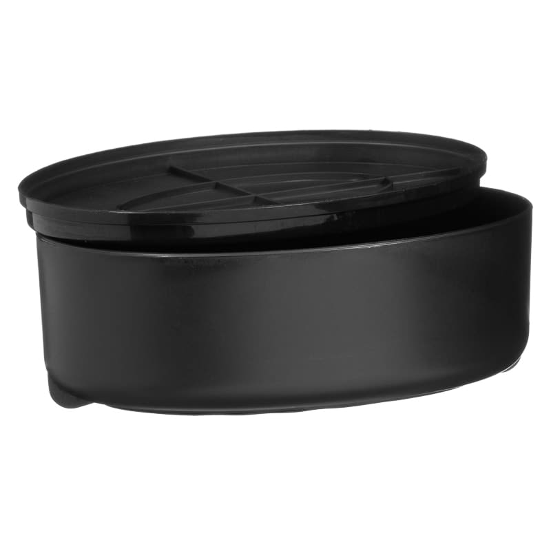 Betty Winters Grater with Lid - Black