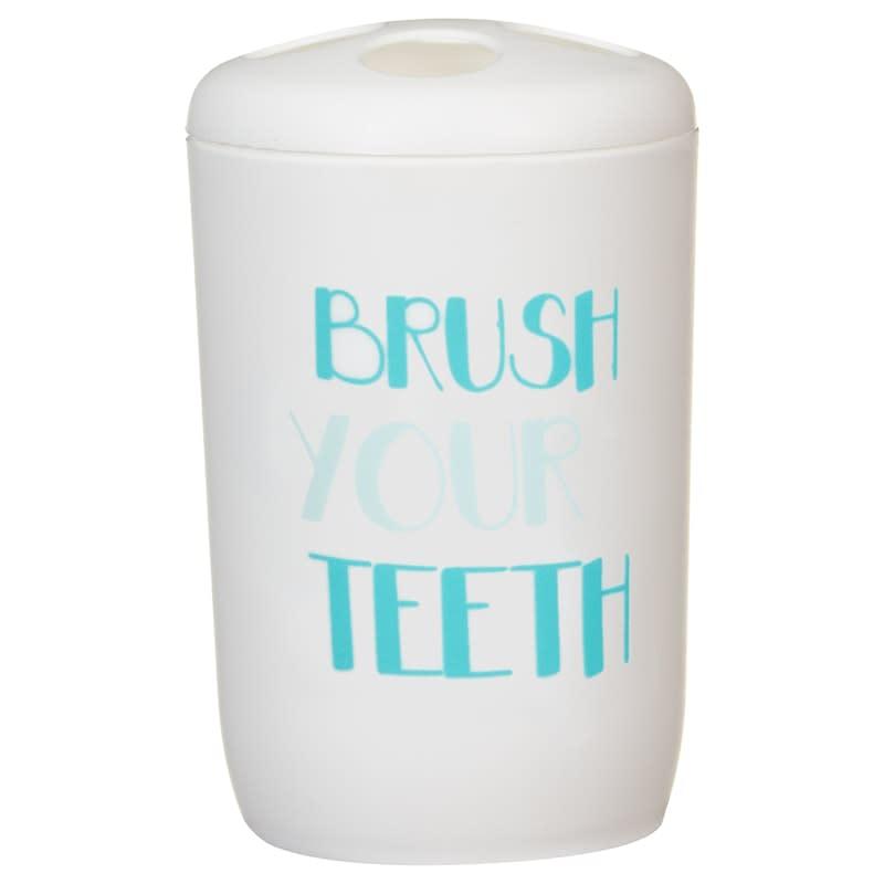 Bathroom Essentials Set 4pc - Slogan | Home | Bathroom - B&M