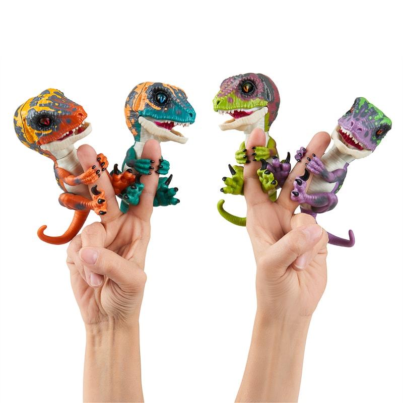 Fingerlings Raptors Toys Games Animal Toys Bm