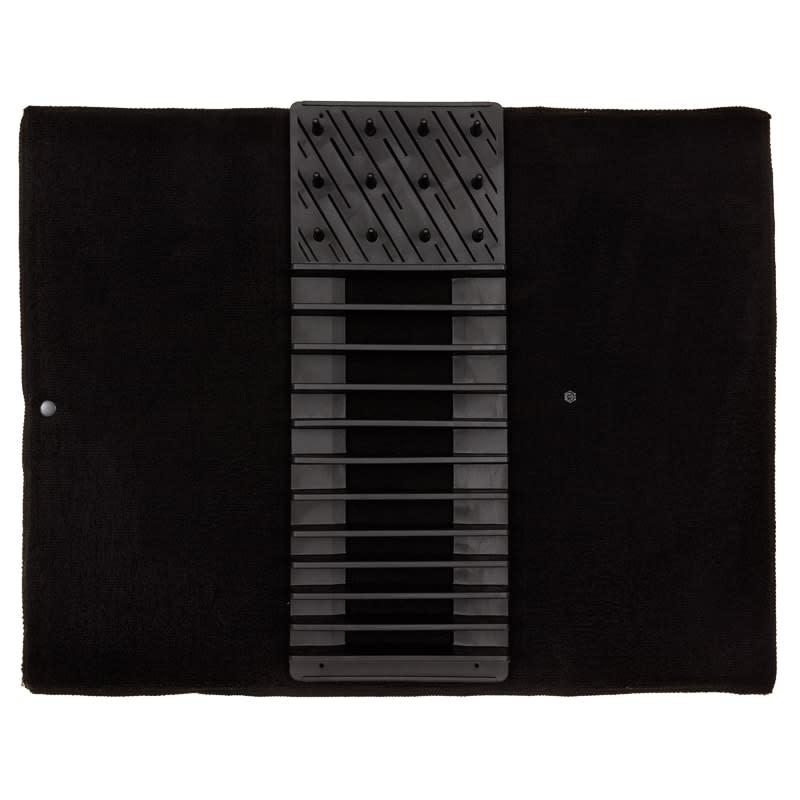 Addis 2 In 1 Dish Drying Mat Amp Rack Black Kitchen B Amp M