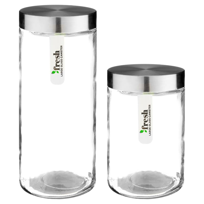 Medium Glass Canister