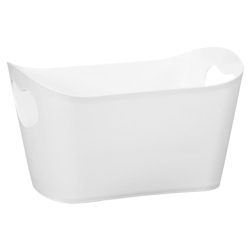 Plastic Storage Tub - White