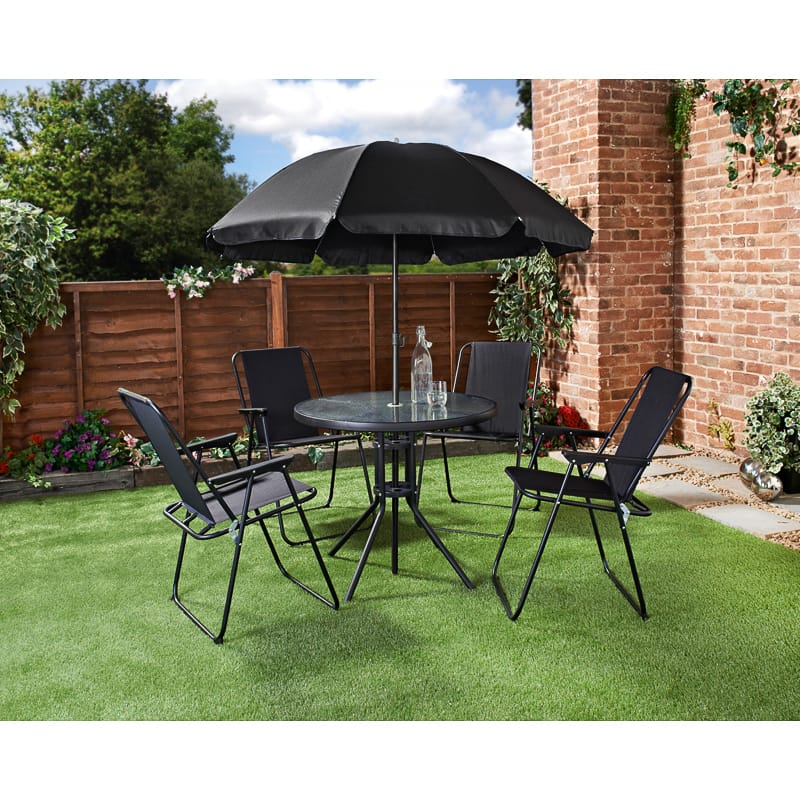 Milano Patio Furniture Set 6pc Garden Furniture B M