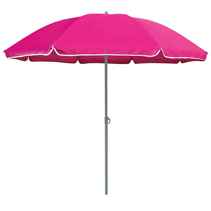 Tropic Garden Parasol 1 8m Pink Garden Furniture B Amp M